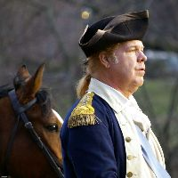 Photo of David Emerson as George Washington